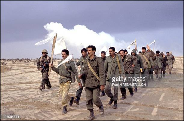 Operation desert storm stock photos and pictures getty images gulf war allied forces enter kuwait on february 25 1991 sciox Gallery