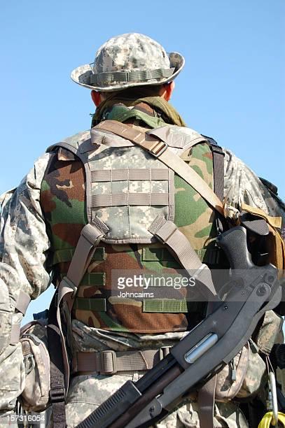 soldado de la guerra del golfo. - navy seals de los estados unidos fotografías e imágenes de stock