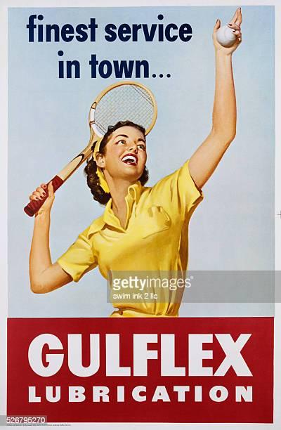 Gulflex Lubrication Poster
