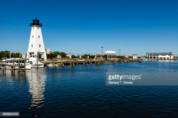 gulfport lighthouse - mississippi stock pictures, royalty-free photos & images