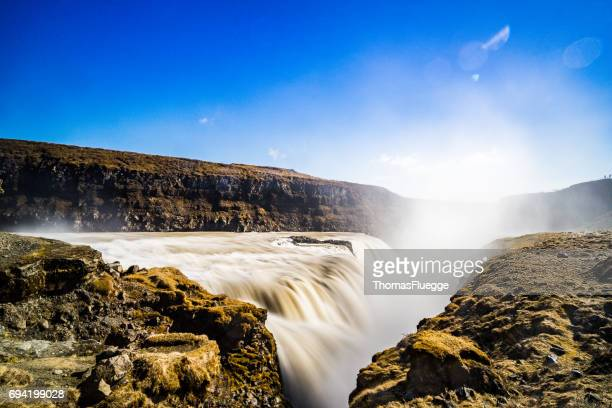Gullfoss-Wasserfall, Island