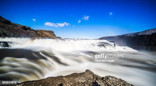 Gullfoss-Wasserfall, Isceand