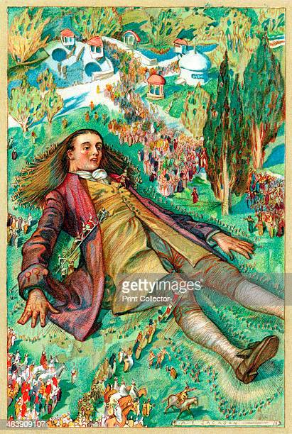 Gulliver in Lilliput Lemuel Gulliver set ashore after a mutiny regains consciousness and finds himself a prisoner of the Lilliputians From Gulliver's...