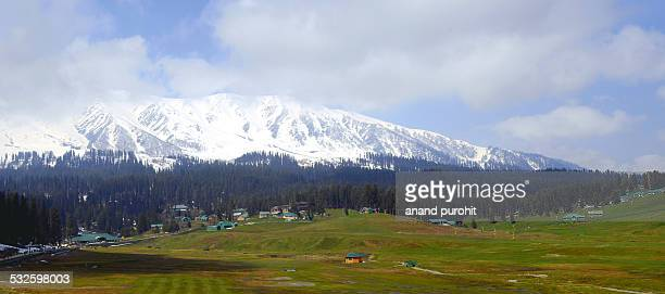 Gulmarg Panorama, Jammu and Kashimir, India