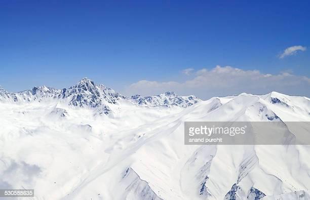 Gulmarg top, Panorama, Jammu and Kashmir, India