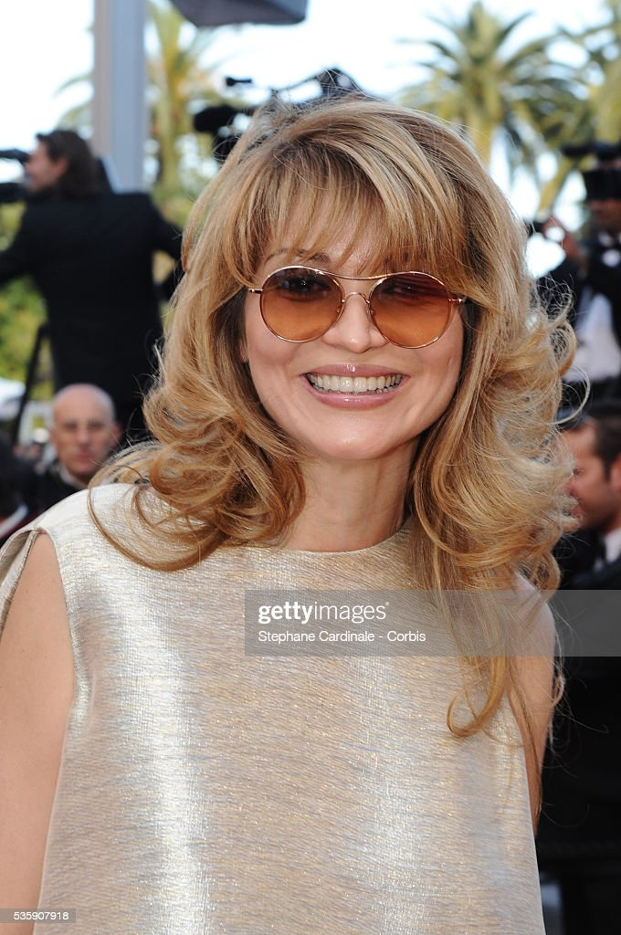 Gulnara Karimova attends the premiere for 'The Exodus - Burnt By The Sun 2' during the 63rd Cannes International Film Festival.