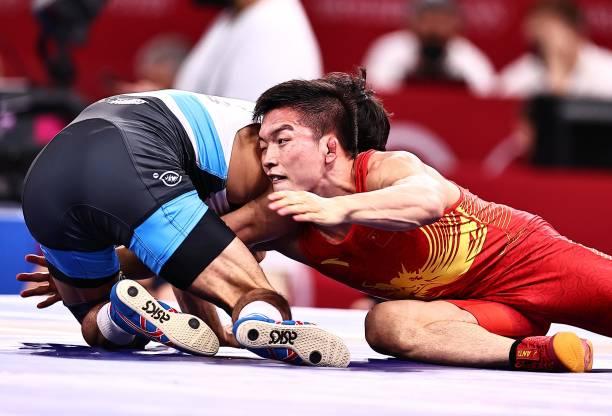 JPN: Wrestling - Tokyo 2020 Olympics - Day 12