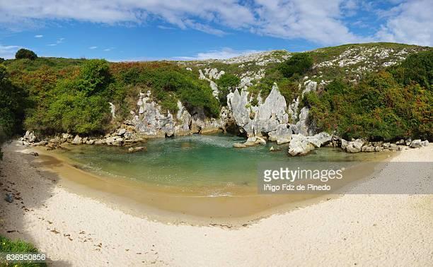 Gulpiyuri beach - Llanes - Asturias - Spain