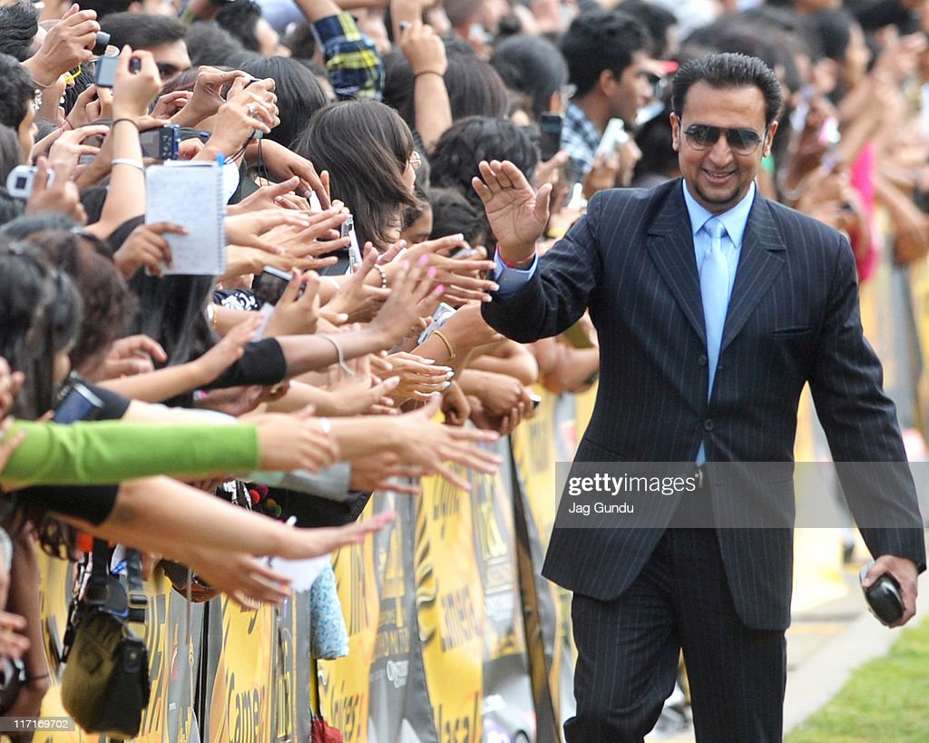 Gulshan Grover arrives at the World Premier of the film Double Dhamaal part of the International Indian Film Academy awards on June 23, 2011 in Toronto, Canada.