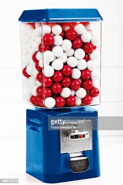 gumball machine, close-up - gumball machine stock pictures, royalty-free photos & images