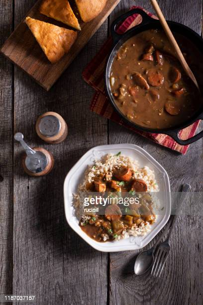 gumbo - creole culture stock pictures, royalty-free photos & images