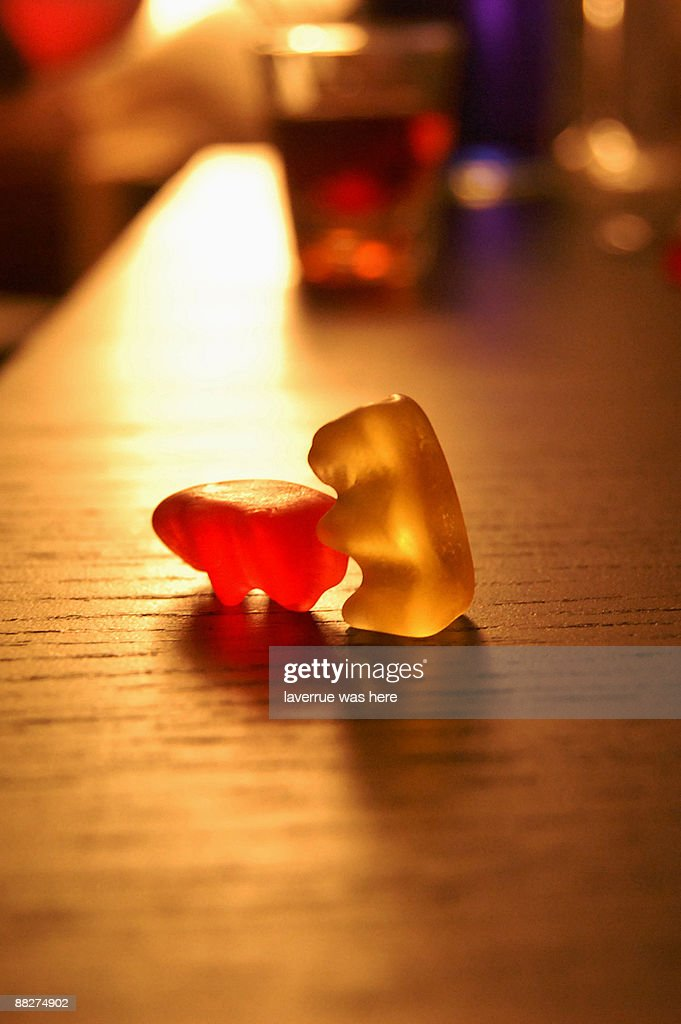 Gummy Bear Fornication : Stock Photo