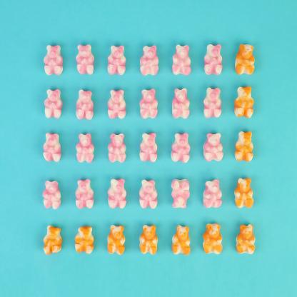 Gummy Bear Grid - gettyimageskorea