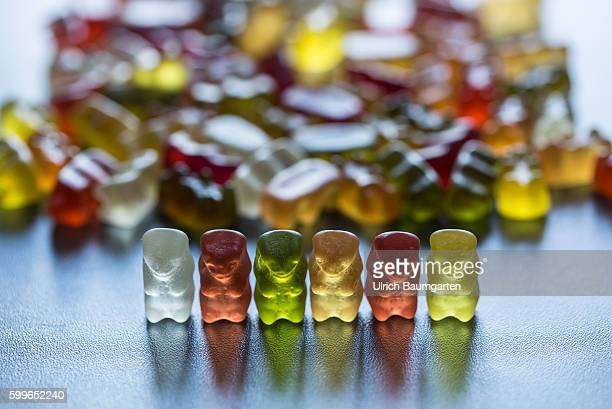 Gummy bears are at the top on the list of the most popular sweets in children and in adults About additives makes you look little throught
