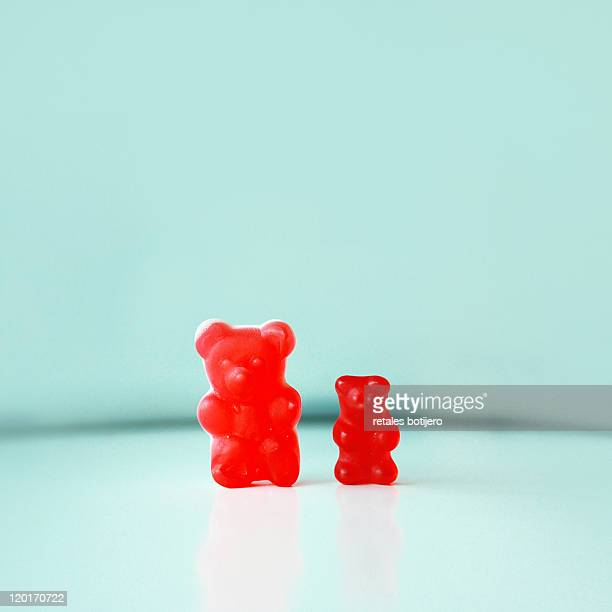 gummy bears - gummi bears stock photos and pictures