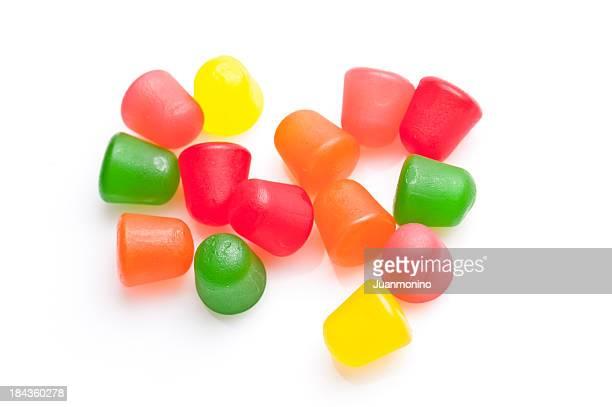 gummy candies - gelatin dessert stock photos and pictures