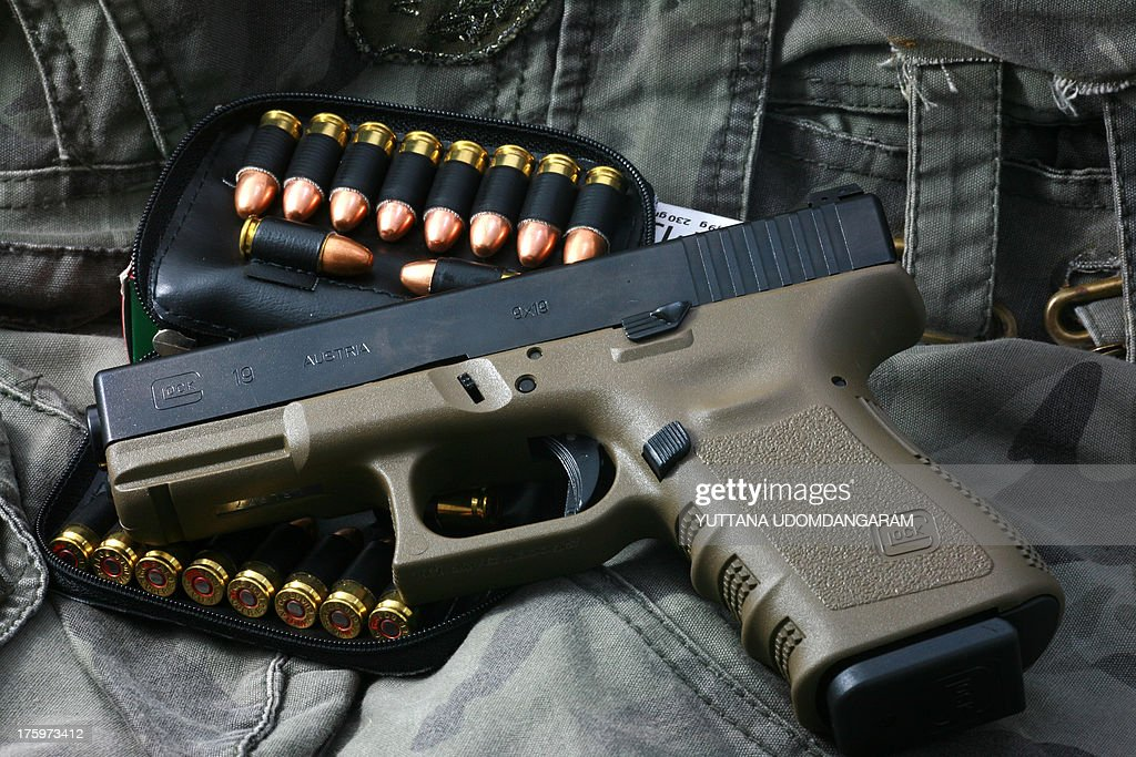 Glock 19 : News Photo