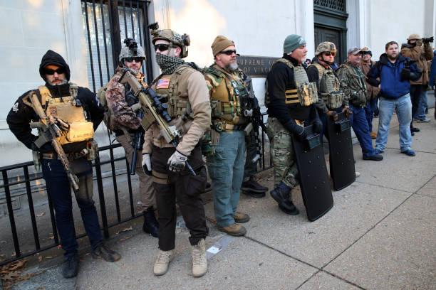 VA: Gun Rights Advocates From Across U.S. Rally In Virginia's Capital Against Gun Control Legislation