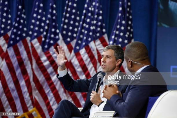 Gun Safety Forum at The Enclave in Las Vegas, NV on Wednesday, October 2, 2019 -- Pictured: Former Rep. Beto O?'Rourke --