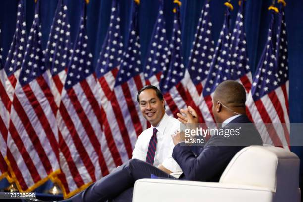 Gun Safety Forum at The Enclave in Las Vegas, NV on Wednesday, October 2, 2019 -- Pictured: Former Housing and Urban Development Secretary Julián...