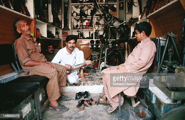 Gun shop in Darra Adam Khel