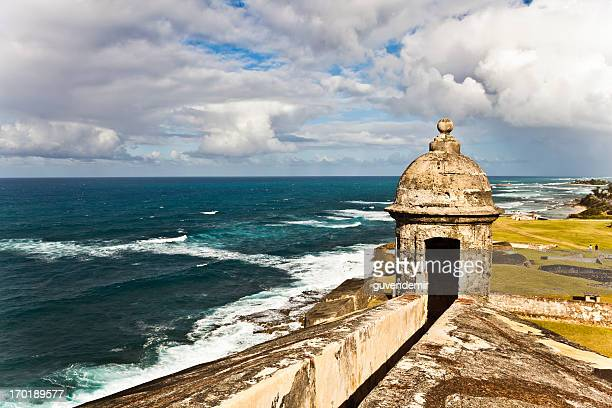 pistola de torreta - san juan puerto rico fotografías e imágenes de stock