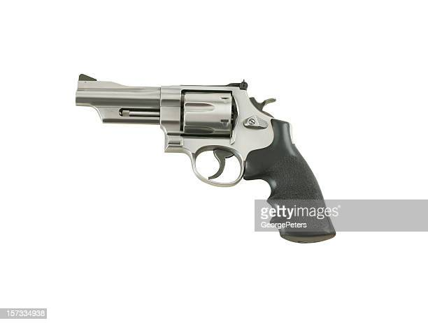 gun with clipping path - gun stock pictures, royalty-free photos & images