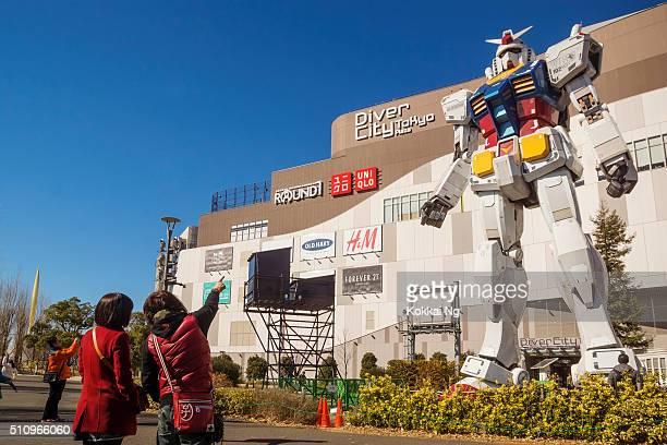 Gundam de plongeur ville de Tokyo