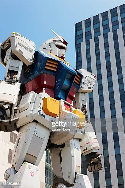 Gundam robot Odaiba, Tokyo, Japan