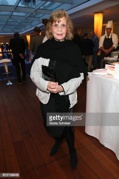 Gundel Fuchsberger widow of Joachim Fuchsberger during the summer party of and at Hotel Bayerischer Hof on July 27 2017 in Munich Germany