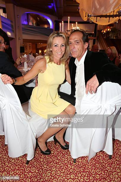Gundis Zambo and her husband Christoph Mahrdt during the Kaiser Cup 2016 gala on July 16 2016 in Bad Griesbach near Passau Germany