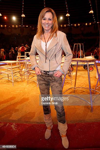 Gundis Zambo attends the Circus Krone March Premiere at Circus Krone on March 1 2015 in Munich Germany
