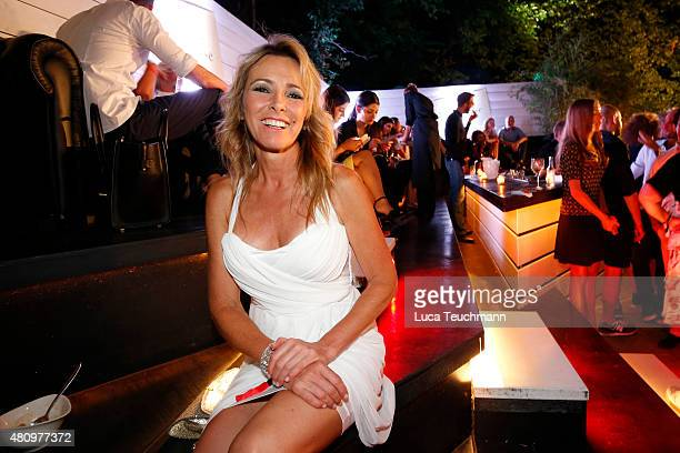 Gundis Zambo attends the New Faces Award Fashion 2015 on July 16 2015 in Munich Germany
