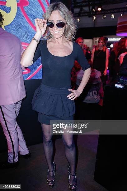 Gundis Zambo attends the Tribute to Bambi 2015 party at Station on October 15 2015 in Berlin Germany