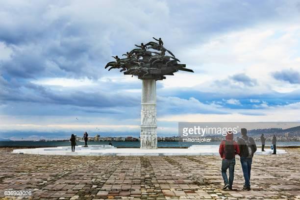 Gundogdu square izmir, Turkey