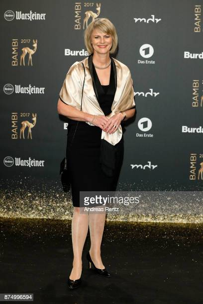 Gundula Gause arrives at the Bambi Awards 2017 at Stage Theater on November 16 2017 in Berlin Germany