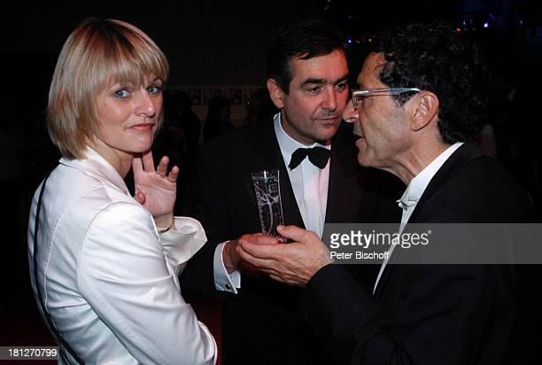"""Gundula Gause, Ehemann Peter Gause , Party-Gast, ZDF-Gala """"Deutscher Fernsehpreis"""" , Aftershow-Party, Köln, , """"Coloneum"""", Moderatorin, Brille,..."""
