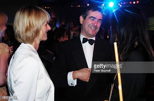 """Gundula Gause, Ehemann Peter Gause, ZDF-Gala """"Deutscher Fernsehpreis"""" , Aftershow-Party, Köln, , """"Coloneum"""", Moderatorin, ZDF-Nachrichtensprecherin,..."""