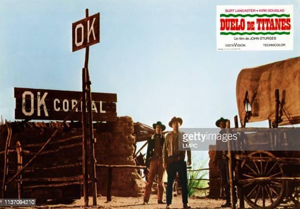 Gunfight At The O.k. Corral, lobbycard, , Jack Elam , Lyle Bettger , 1957.