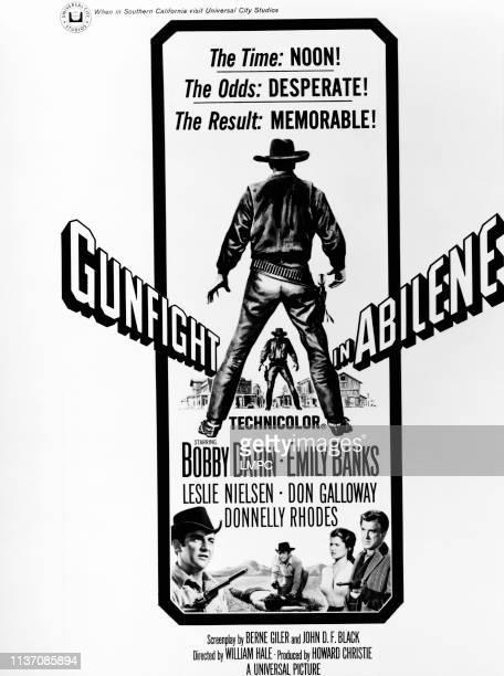 Gunfight In Abilene poster bottom from left Bobby Darin Emily Banks Leslie Nielsen 1967