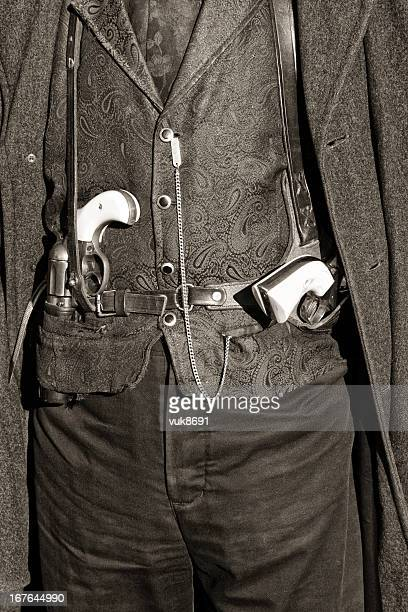 gunfighter - tombstone arizona stock pictures, royalty-free photos & images