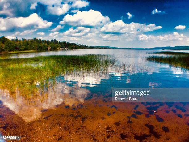 gunflint lake minnesota was - boundary waters canoe area stock pictures, royalty-free photos & images