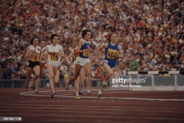 Gunhild Hoffmeister, Vera Nikolic competing in the Women's 800 metres event at the 1972 Summer Olympics / the Games of the XX Olympiad,...