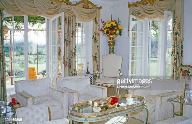 Gunilla Countess von Bismarck's Casa Ann Mari at Marbella Spain 1999