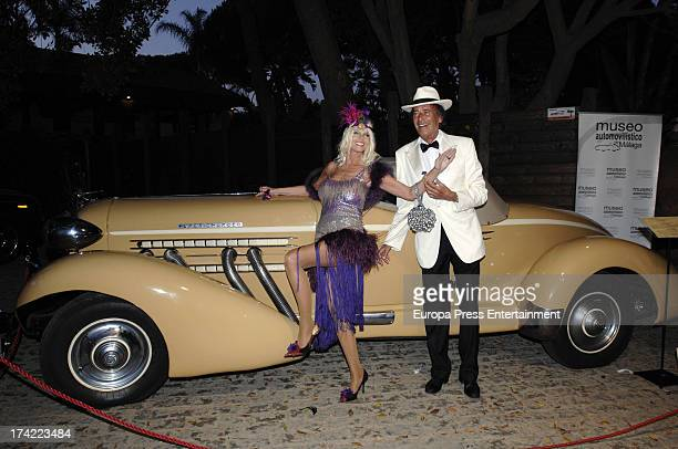 Gunilla Von Bismarck and Luis Ortiz attend 'Concordia Charity Party' on July 20 2013 in Marbella Spain