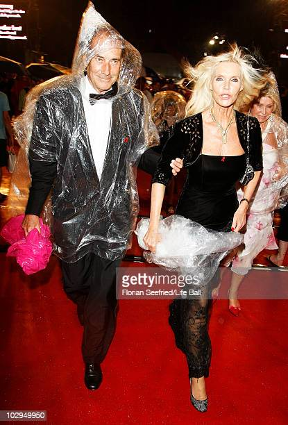 APPLY Gunilla von Bismarck attends the 18th Life Ball at Town Hall on July 17 2010 in Vienna Austria The Life Ball is an annual charity ball raising...