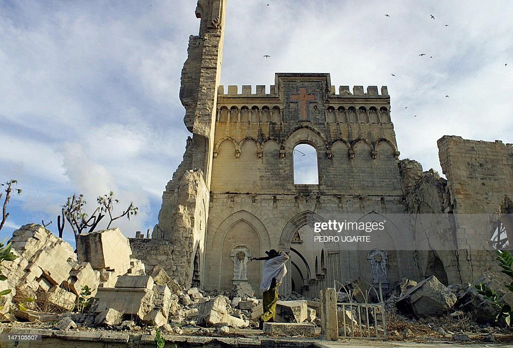 SOMALIA-UNREST-CATHEDRAL : News Photo