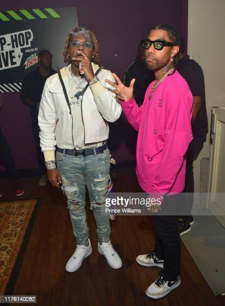 Gunna and Reese Laflare at Billboard Hip Hop Live Featuring Gunna at The Buckhead Theater on September 19 2019 in Atlanta Georgia