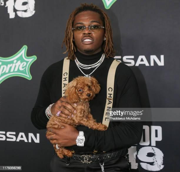Gunna arrives to the 2019 BET Hip Hop Awards on October 05 2019 in Atlanta Georgia