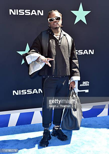 Gunna attends the 2019 BET Awards at Microsoft Theater on June 23 2019 in Los Angeles California